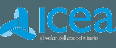 logo de icea cliente de consultoria it