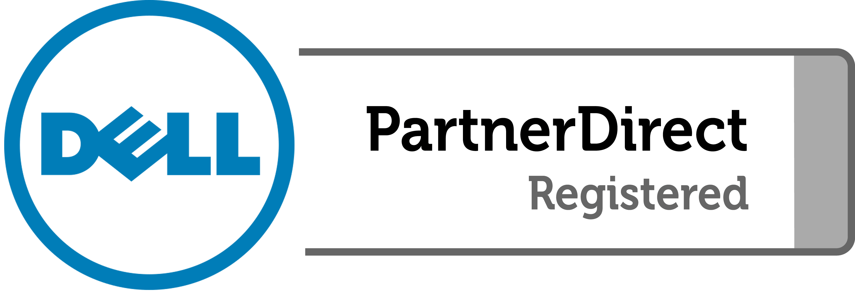 logo de dell partner direct registered
