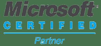 logo de microsoft partner certificado