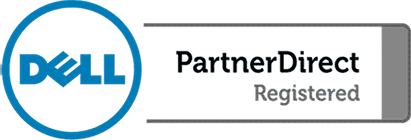 logo de dell partner direct registered
