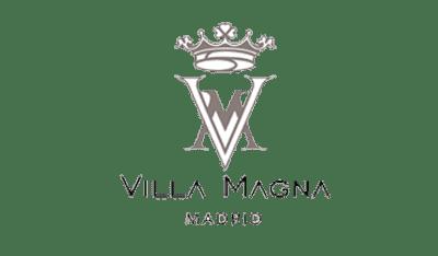 logo de hotel villamagna madrid cliente de consultoria it
