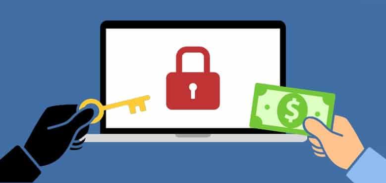 ataque ransomware en empresas