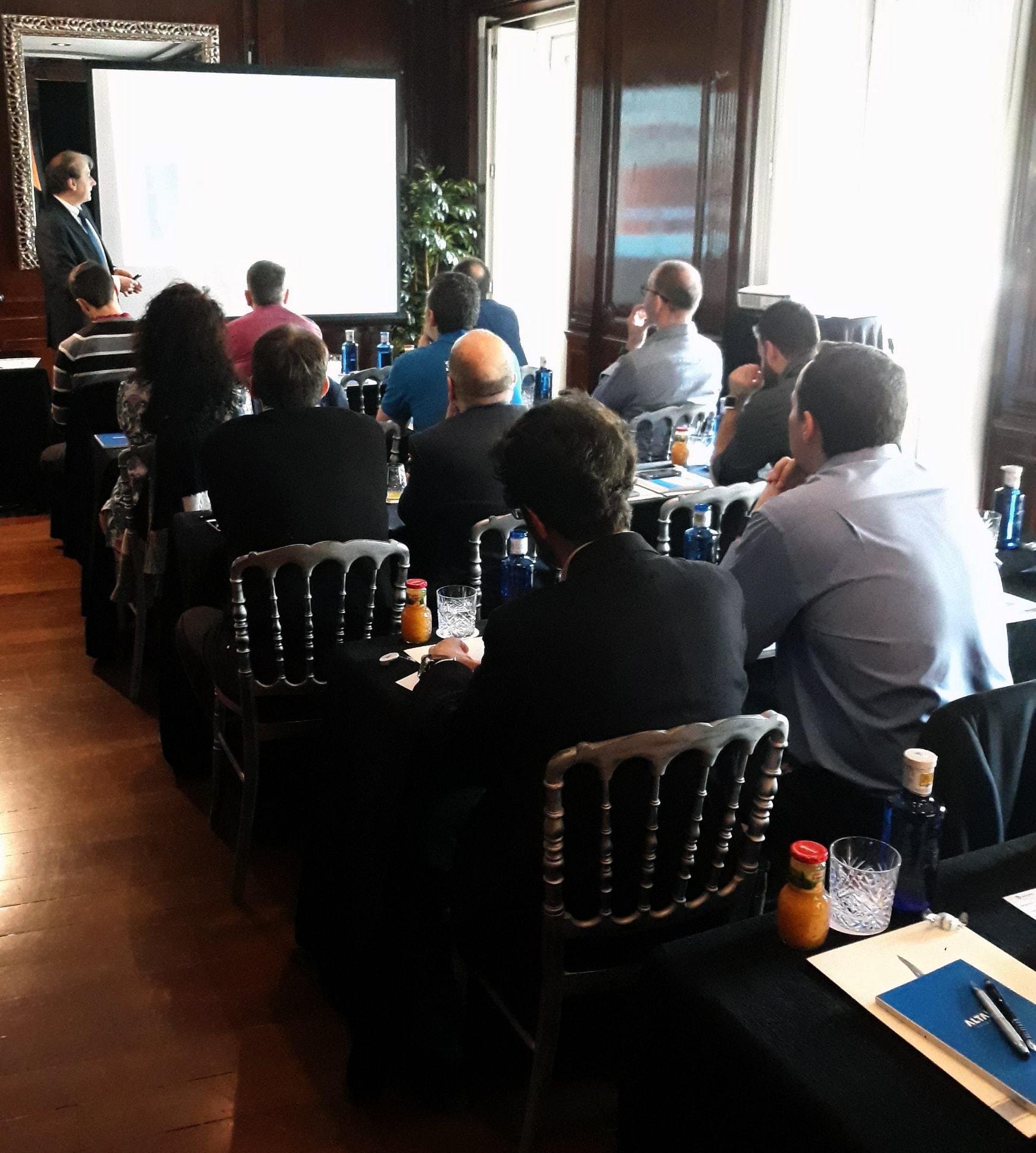 Abogado de Áudea Seguridad Informática en el evento GDPR de Altair