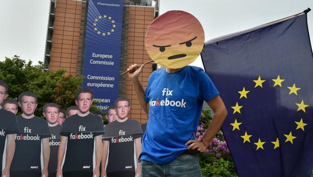 facebook denunciada por incumplimiento del GDPR